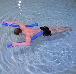 d buter la natation 3 exercices pour s 39 allonger et d velopper son quilibre. Black Bedroom Furniture Sets. Home Design Ideas