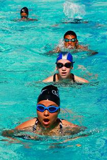 comment devenir nageuse professionnel