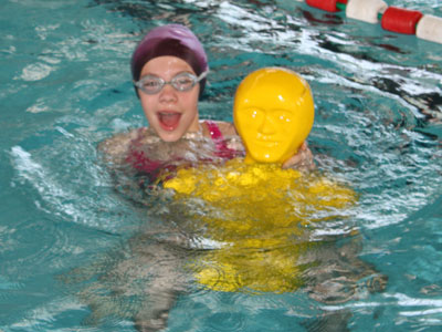 Mon groupe nageur natation scolaire for Mannequin piscine