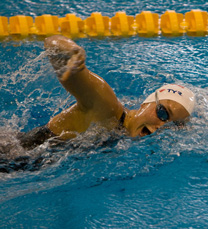 Natation pour tous apprendre nager le crawl exercice 2 for Piscine pour apprendre a nager